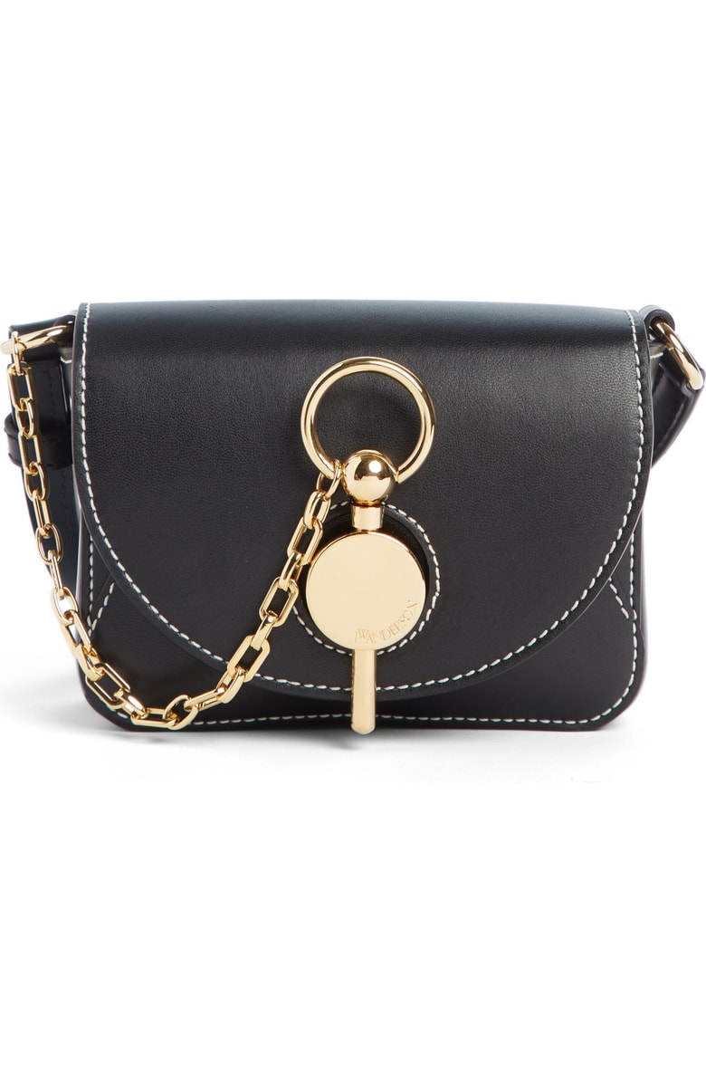 NORDSTROM: J.W. Anderson Nano Lock Leather Convertible Crossbody Bag