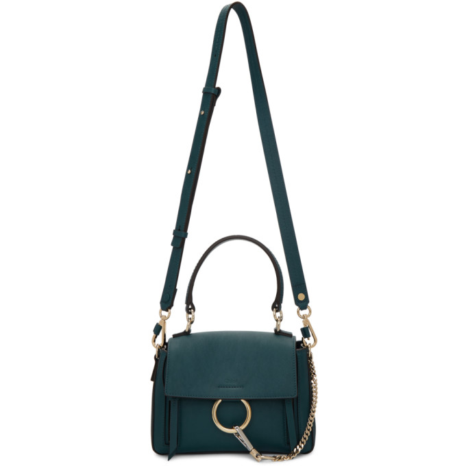 Chloé: Navy Mini Faye Day Bag