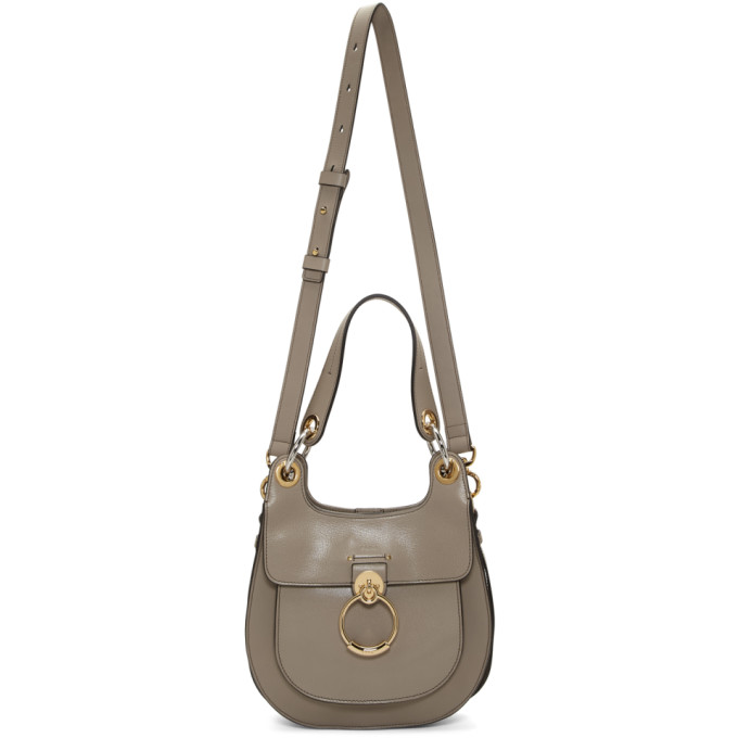 Chloé: Grey Medium Tess Bag