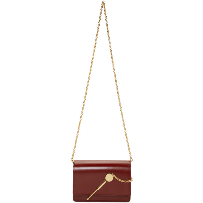 Sophie Hulme: Burgundy Micro Cocktail Stirrer Bag