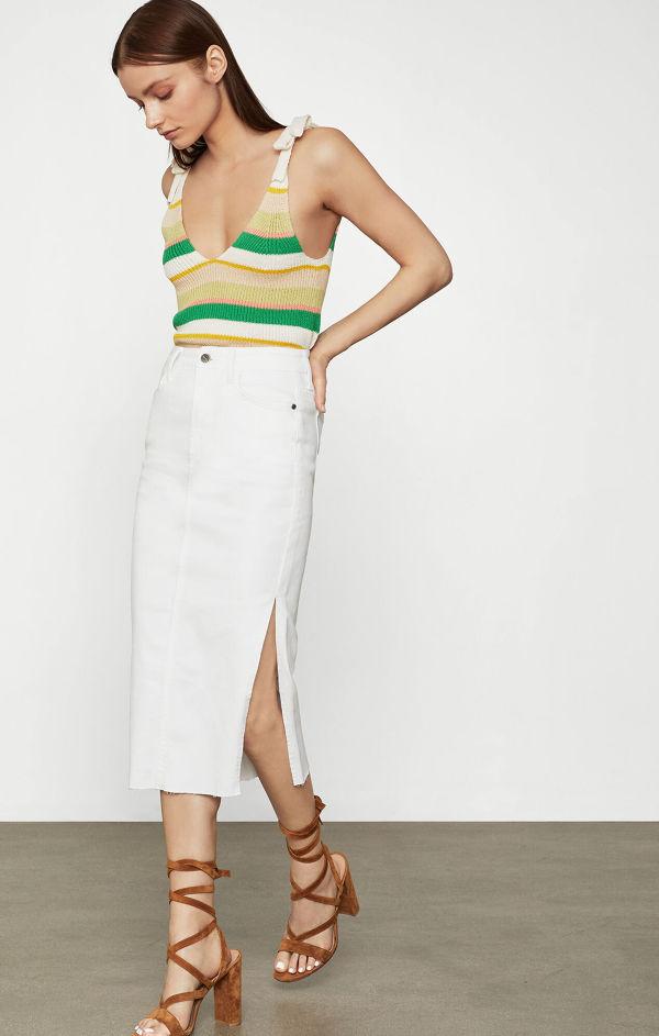 BCBGMAXAZRIA Denim Pencil Skirt
