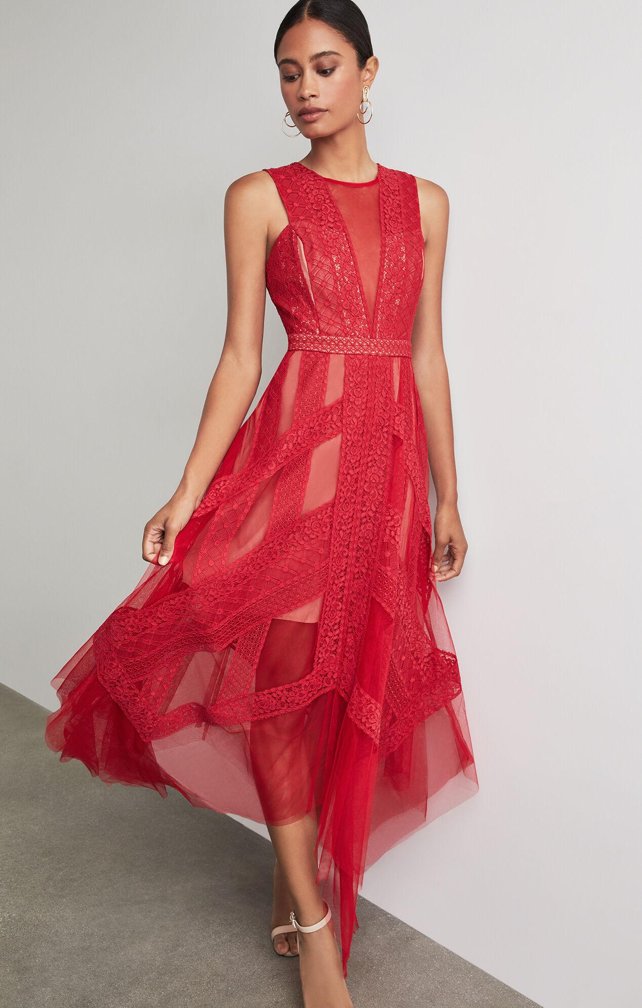 BCBGMAXAZRIA: Andi Lace Dress
